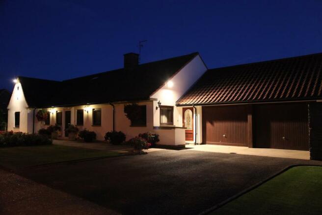 night photo of the