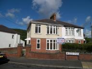 3 bed semi detached home for sale in Lewis Road, Crynant...