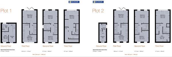 Floorplan 1 and 2