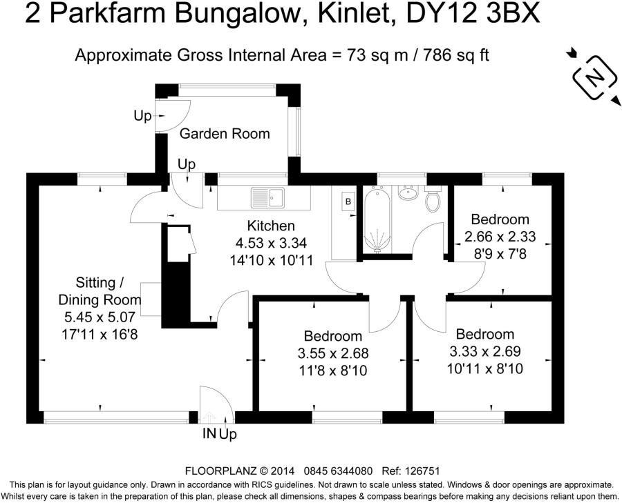 3 Bedroom Bungalow For Sale In Park Farm Kinlet Bewdley Worcestershire DY12