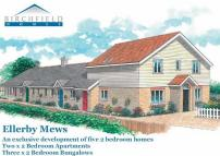 new development in Ellerby Mews, Ash Road...