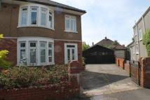 semi detached house in St. Benedicts Crescent...