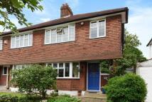 semi detached house in Forster Road, Beckenham