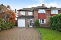 4 bedroom semi detached home in Bushey Way, Beckenham