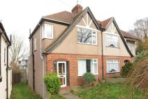 Brinklow Crescent semi detached property for sale