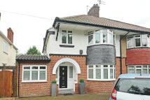 semi detached house in Wricklemarsh Road...
