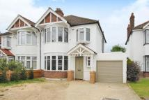 semi detached property for sale in Ridgeway Drive, Bromley