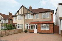 Selworthy Road semi detached house for sale