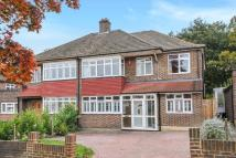 semi detached home in Mead Way, Hayes