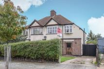 3 bedroom semi detached home in Kingshurst Road, Lee