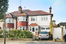 4 bedroom semi detached home in Creighton Avenue...