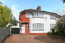 Whitehouse Way semi detached house for sale