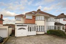 semi detached house for sale in Hampden Way, Southgate