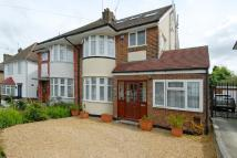 semi detached home for sale in Knoll Drive, Southgate
