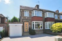 4 bedroom semi detached house in Lonsdale Drive, Enfield