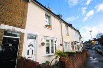 Terraced home for sale in Brook Road South, TW8