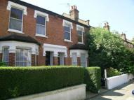 Terraced house in Bonchurch Road, Ealing...