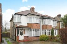 3 bed semi detached home in Manor Park Road...