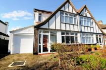 3 bed semi detached home for sale in Braemar Gardens...