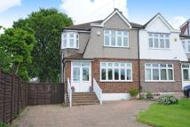 3 bed semi detached house in The Crescent...