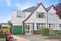 4 bed semi detached house in Braemar Gardens...