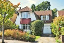 Detached home for sale in Copse Avenue...