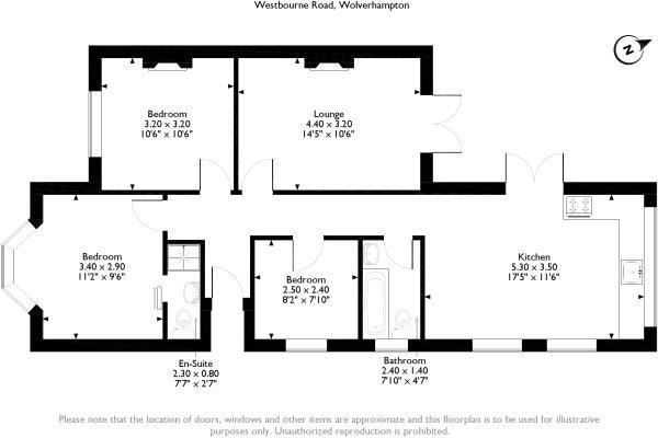Floorplan for 54 Wes