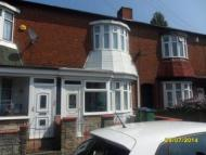 3 bedroom house to rent in Talbot Road, Bearwood...