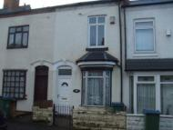 2 bedroom house in Gladys Road, Bearwood...