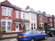 Terraced house in Boundary Road, London...