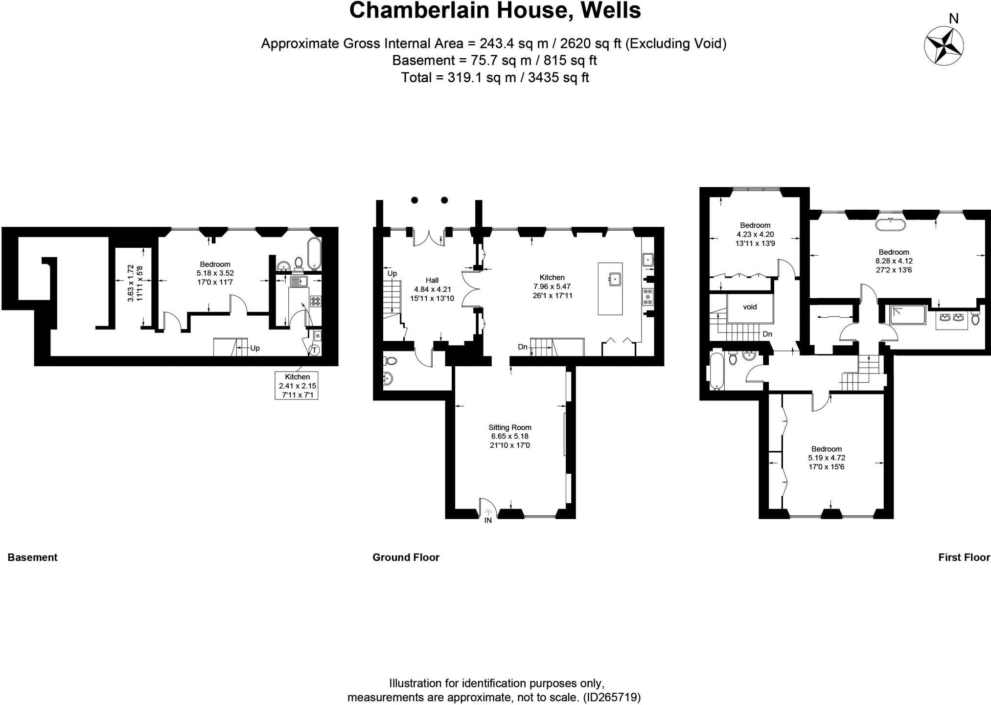 4 bedroom detached house for sale in Wells, Somerset , BA5