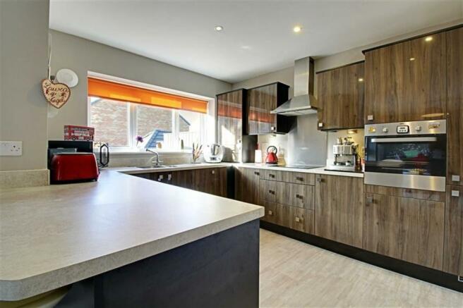 Open plan Breakfast Kitchen