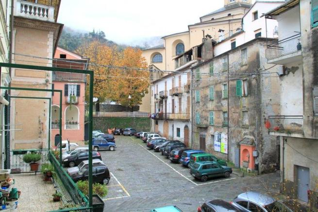 View to the Piazza