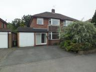 Henley Crescent semi detached house to rent