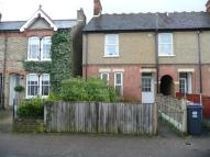 Terraced house in Duncombe Road, Hertford...