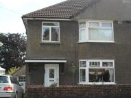 semi detached home to rent in Parcau Avenue, Bridgend...