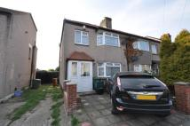 semi detached house to rent in Kenmere Road, Welling...