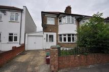 semi detached home in Farnham Road, Welling...