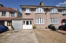 3 bed semi detached property in Barrington Road...