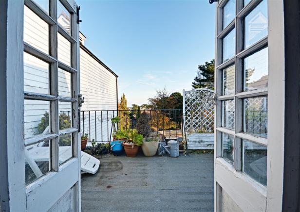 Second Floor Roof Terrace
