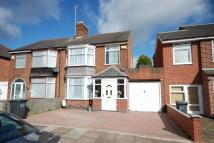 3 bedroom semi detached home in Sudeley Avenue, Leicester