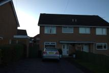 3 bedroom semi detached property to rent in Cae Llys Close...