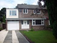 semi detached home to rent in Springwood Hall Gardens...