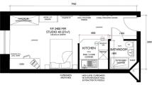 1 bed Studio flat in Palace Studios, Kirkgate...
