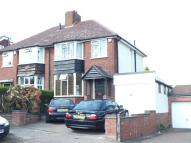3 bed semi detached home to rent in Four Oaks Common Road...