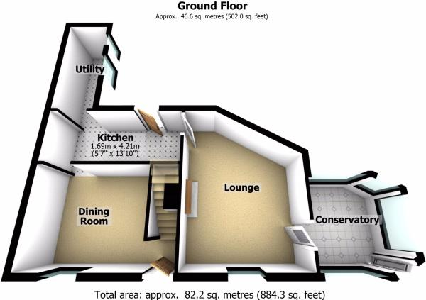 Ground Floor - 3D