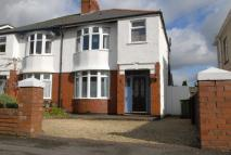 3 bedroom semi detached house in Park Avenue, Whitchurch...