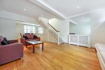 Cadogan Lane house to rent