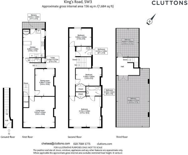 Floor plan Kings Roa