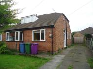 Station Road Semi-Detached Bungalow to rent